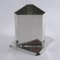 Triangle Pillar Candle Mold - Product Image