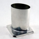 Oval Pillar Candle Mold - Product Image