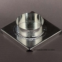 Round Floater Candle Mold - Product Image