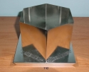 Hexagon Pillar Candle Mold - Product Image