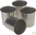 Metal Votive Molds - Product Image
