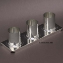 Round Votive Mold (3-In-1 Strip) - Product Image