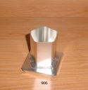 Pentagon Pillar Candle Mold - Product Image