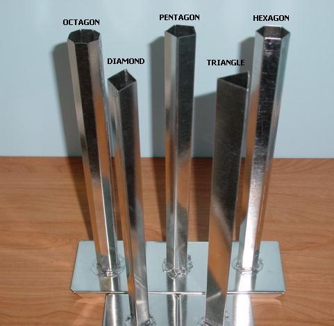 10 inch Tapers 6 TUBE TAPER Metal Candle Mold