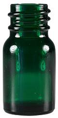 Emerald Green Bottles 5 ml With Poly Seal Cone-Line Caps - Product Image