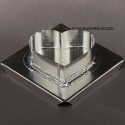 Heart Floater Candle Mold - Product Image