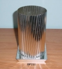 Fluted Pillar Candle Mold - Product Image