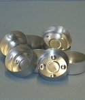 Tea Light Aluminum Containers - 100 or 500 - Product Image