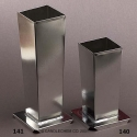 Square Pillar Candle Mold - Product Image