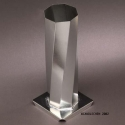 Octagon Spiral Pillar Candle Mold - Product Image