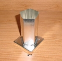 Pentagon Pillar Candle Mold - Product Image